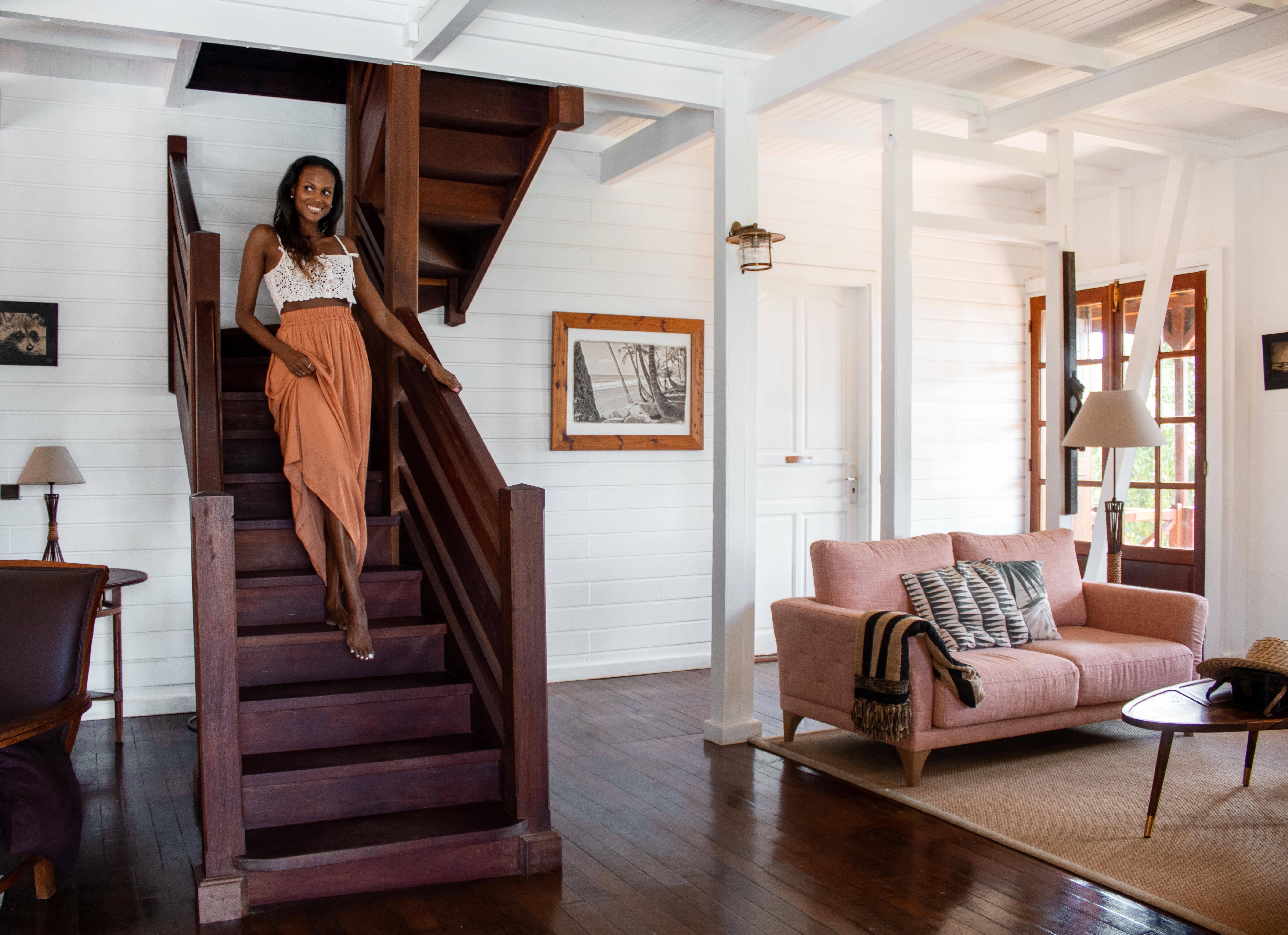Salon Maison Coloniale